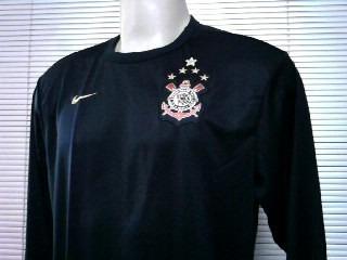 Rara Camisa Corinthians Manga Longa Classica Oficial Nike - R  79 6873bbd41e961