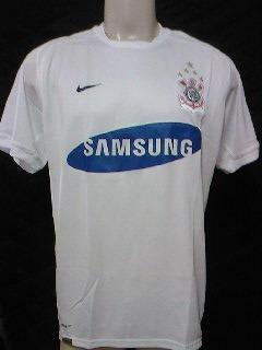 b46fd8dc7e Rara Camisa Corinthians Oficial Nike Uniforme 1 - 2007 2008 - R  89 ...