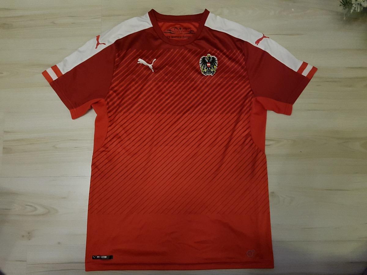 9ecf319c9ba26 Rara Camisa Da Seleção Austríaca De Futebol Puma Áustria - R  178