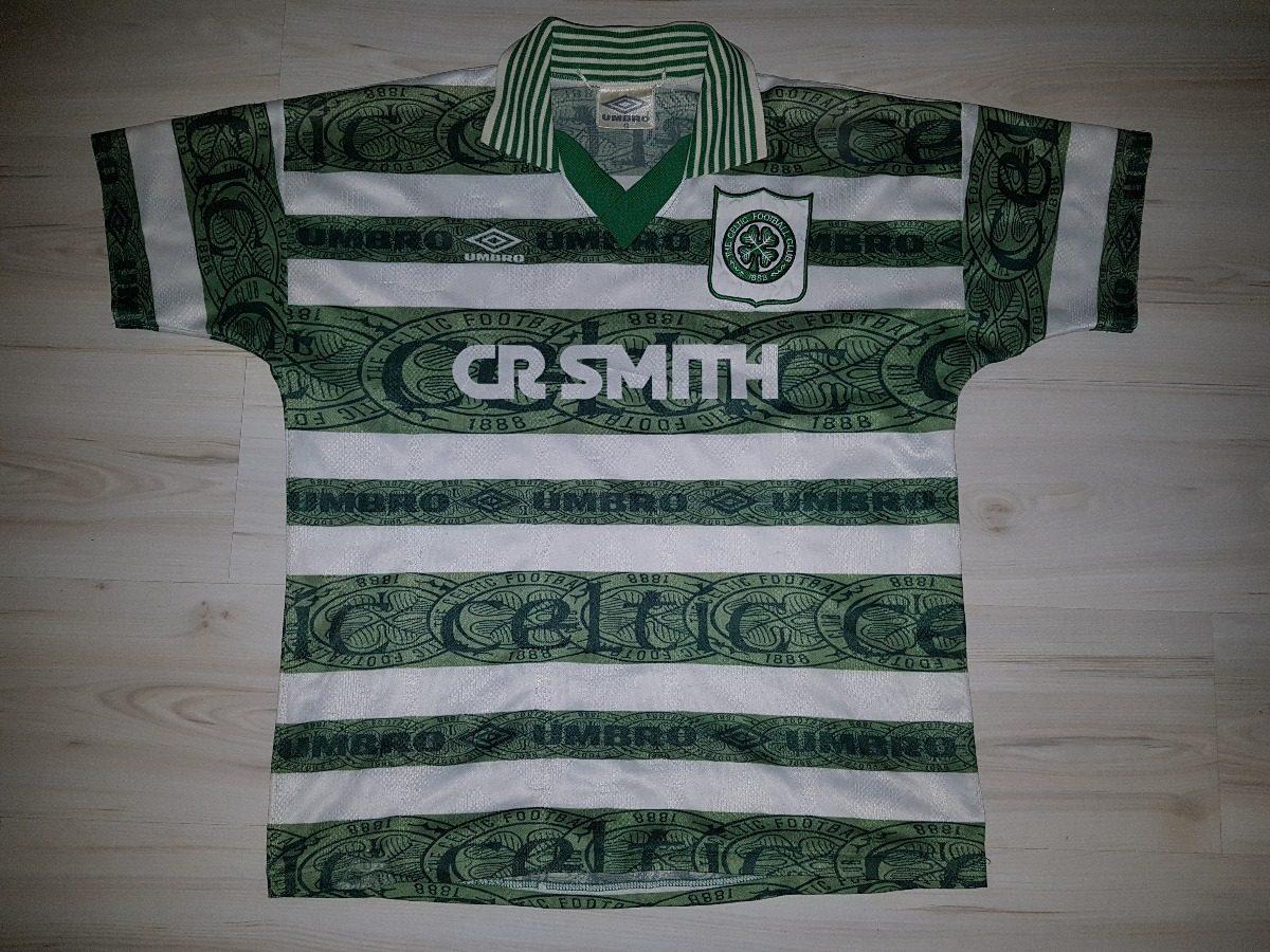 rara camisa do celtic da escócia 1995 umbro celtic fc. Carregando zoom. bc529efbc5022