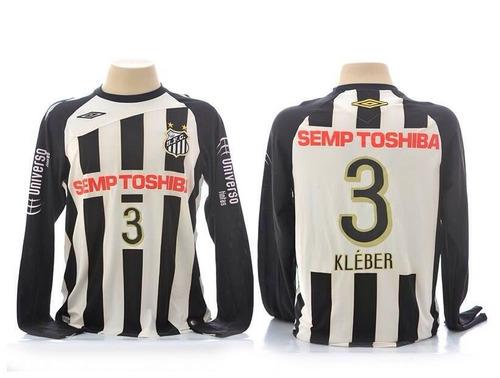 rara camisa do jogador kleber usada na libertadores