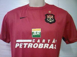86d2f875ce Rara Camisa Flamengo Oficial Nike Escudo Remo 2007 2008 - R  99