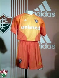 6bcd8ee3a7 Rara Camisa Fluminense Nova adidas Treino Laranja Oficial - R  129 ...