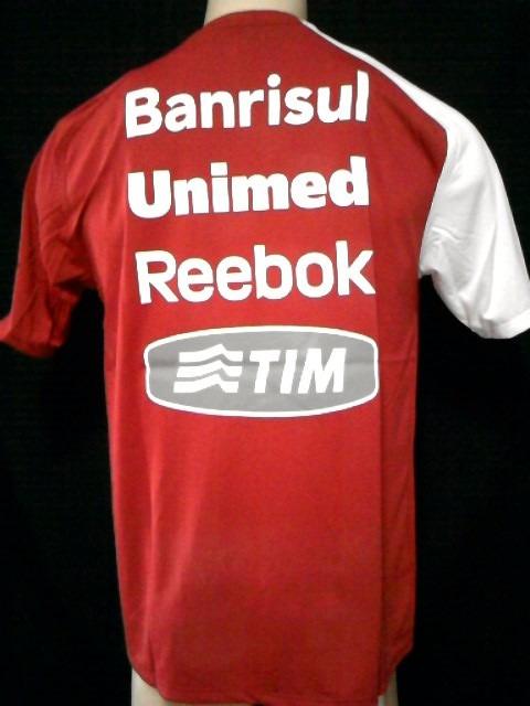 27839ba4d43 Rara Camisa Internacional Reebok Treino Mundial 2010 Oficial - R ...