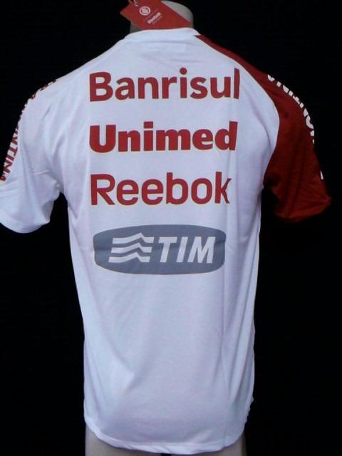 1ff16a3acdb Rara Camisa Internacional Treino Oficial Reebok Mundial 2010 - R ...