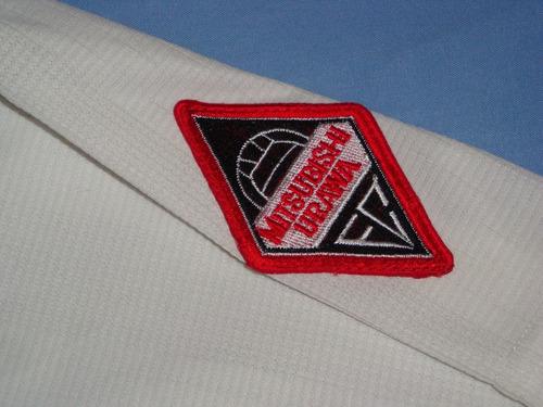 rara camisa mitsubishi urawa red diamonds 1996-1998 umbro