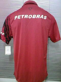 7fdcd7218b Rara Camisa Polo Flamengo Oficial Nike Escudo Remo 2007 2008 - R  89 ...