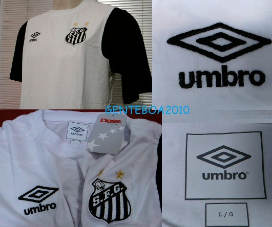 Rara Camisa Santos Oficial Umbro Concentração 2011   2012 - R  59 2b81d8624d51e