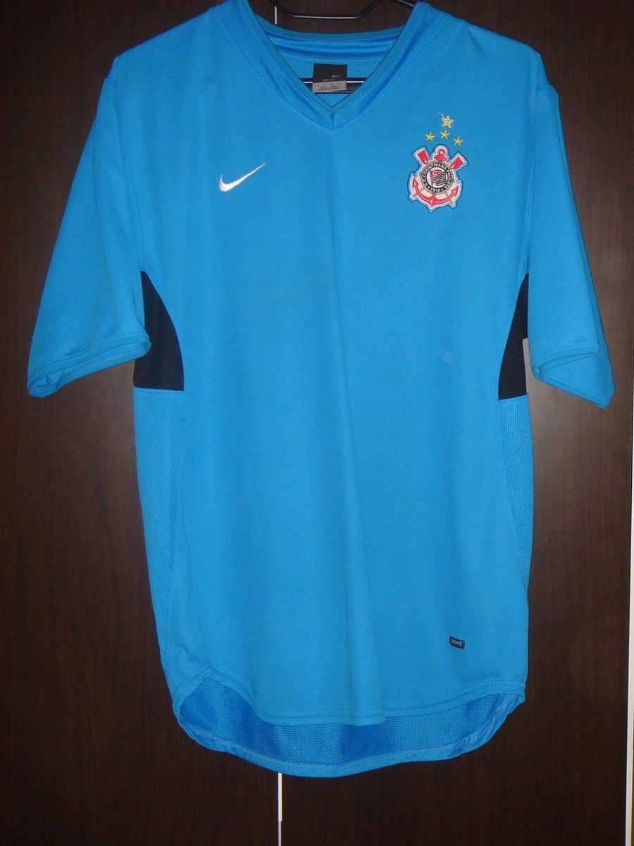 Rara Camiseta Da Nike De Treino Do Corinthians P Ac Trocas - R  79 ... ab5e12d822fe0