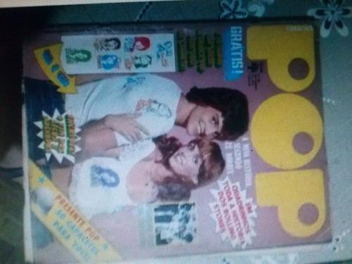 rara e antiga revista pop
