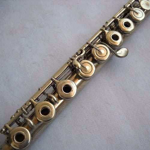 rara flauta transversal lecomte - paris - final do séc.19