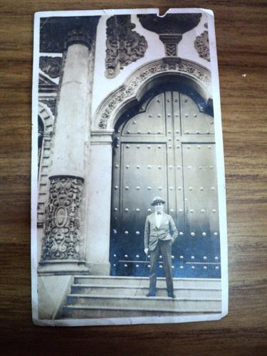 rara foto del pabellon argentino de la exposicion de sevilla