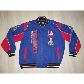 Rara Jaqueta New York Giants Super Bowl Xlvi Champions 2011