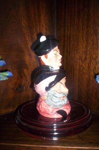 rara jarra royal doulton licorera con stopper falstaff