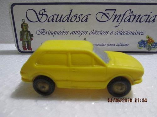 rara miniatura brasilia em plástico bolha era r$150,00