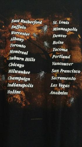 rara unica camisa papa roach turnê infest importada