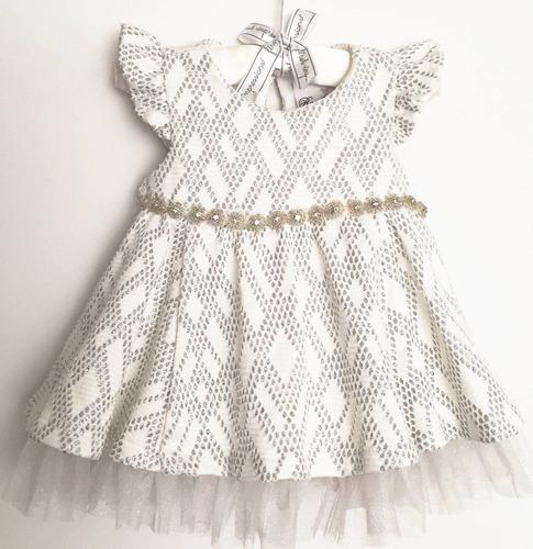 rare edition vestido de fiesta para niña 3 a 6 meses