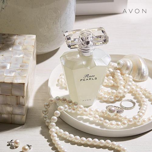 rare pearls perfume para dama de avon x 50 ml original