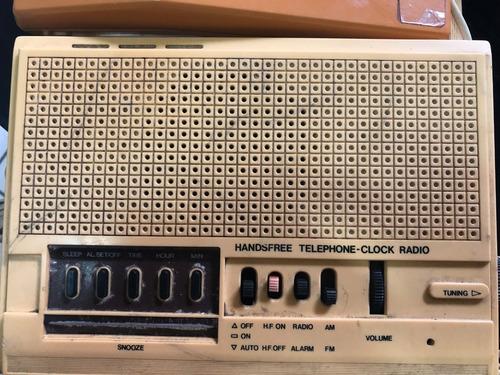 rari relogio telefone antigo