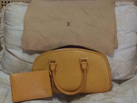 f9cd83b3d Bolsa Louis Vuitton Paris Original - Bolsas de Couro Amarelo no ...
