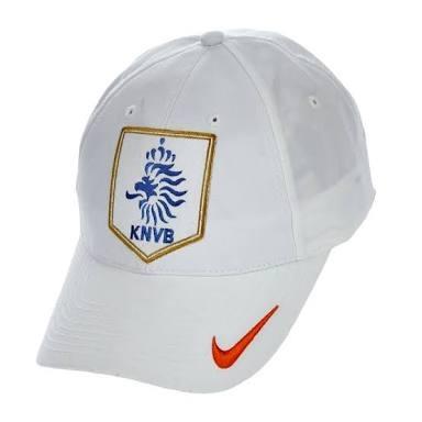 3c56681380e51 Raridade! Boné Nike Holanda 2005 Branco Pronta Entrega - R  189