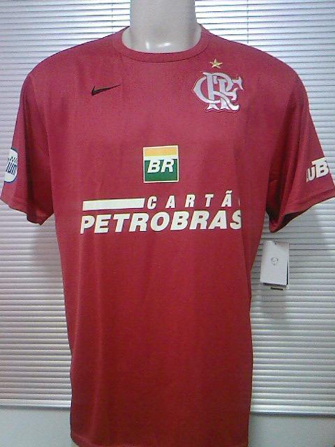 bd0cefad7b72f Raridade! Camisa Treino Flamengo Nike Oficial 2007   2008 - R  78