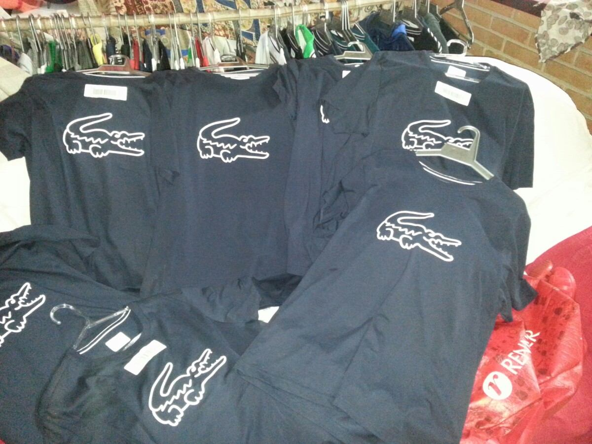 Raridade! Camiseta Fancy Lacoste Sport Ultra Dry - R  189,00 em ... 0d0fbaa0e9