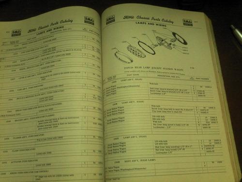 raridade - catálogo original  ford - fomoco 1949/1952