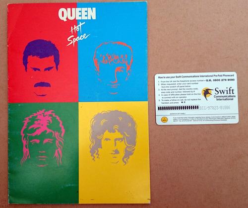 raridade queen cartão telefônico hot space limitado em 5000