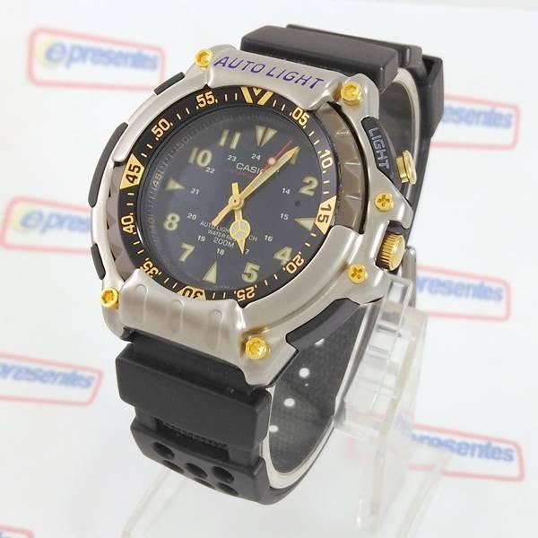 6f90c784cbb Raridade Relógio Casio Vintage Md-310b Wr200 Autoligth Novo - R  459 ...
