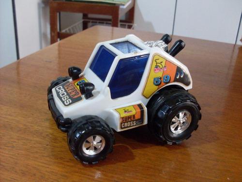 raridade veículo super cross bandeirante divisão banesa  80