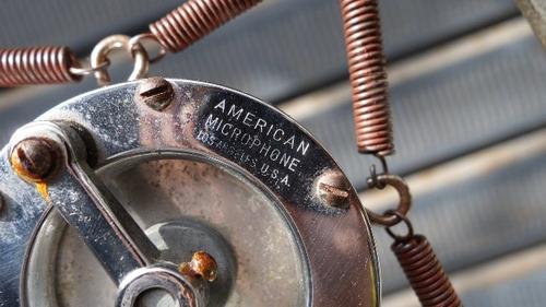 rarisimo antiguo microfono años 30 antigua retro vintage