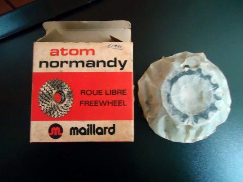 raríssima catraca normandy 5 vel. made in france (na caixa)