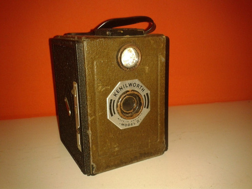 raríssima câmera inglesa kenilworth box - birmingham/1939