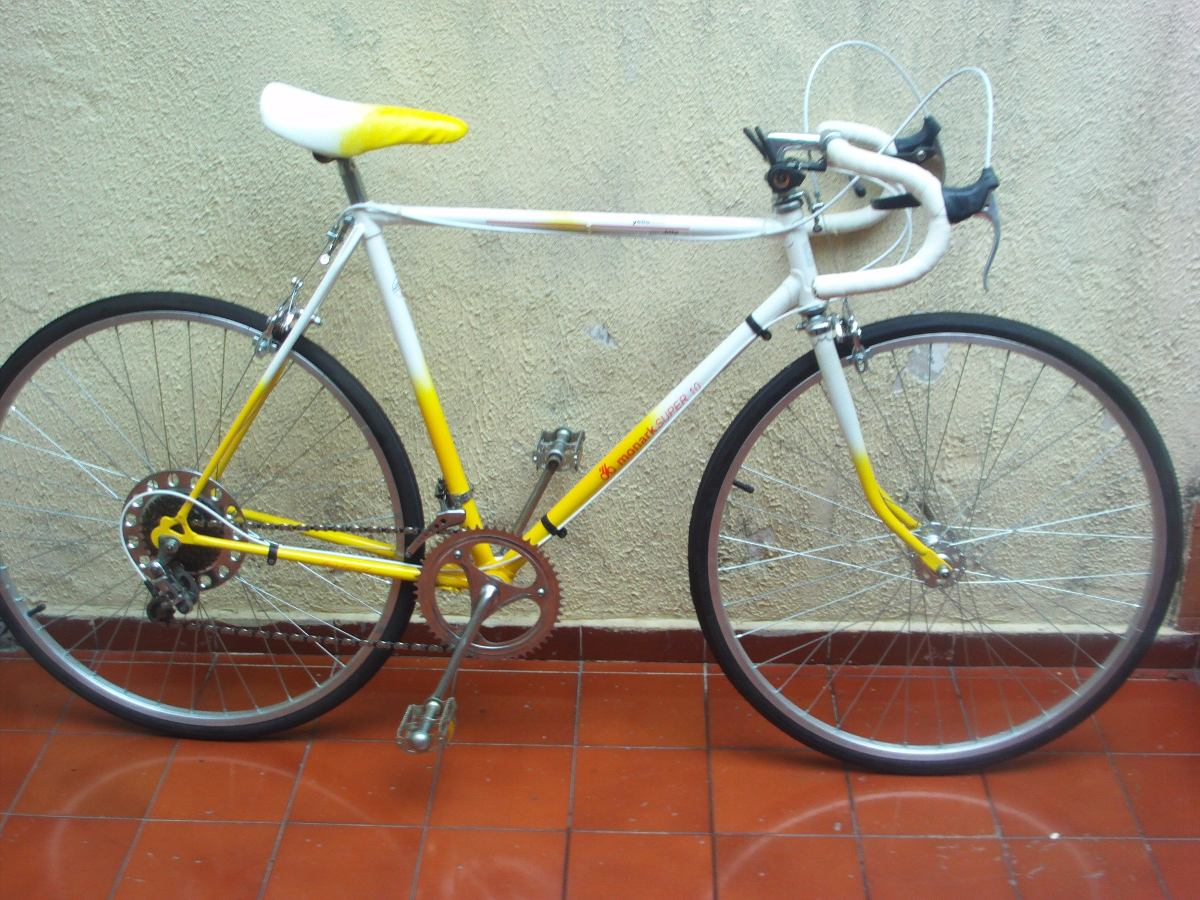 Rarissima Monark Super 10 Yellow & White Positron