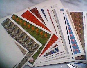 raríssimo - ilusão de óptica 3d - cartões postais 3d