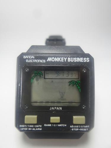 raríssimo relógio game bandai japonês - máquina do tempo
