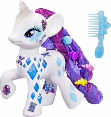 rarity- little pony- glamour glow- giro didactico