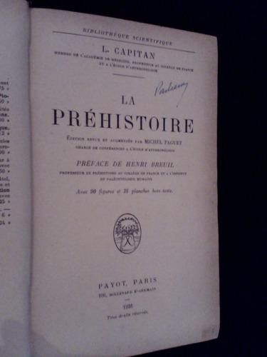 raro a pre historia l capitan 1931