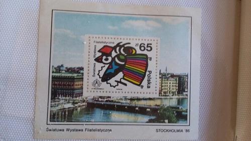 raro bloco selos alemanha oriental ddr f