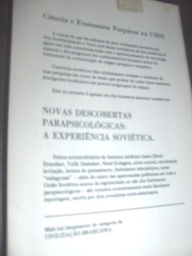 raro descobertas parapsicológicas a experiência soviética