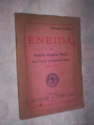 raro eneida texto latino e tradução 1931