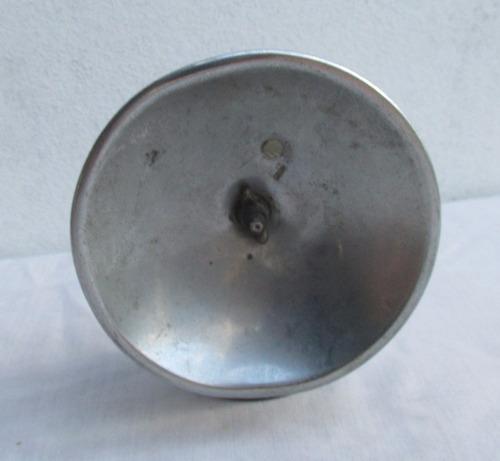 raro farol casco de minero, butterfly, a carburo, de bronce