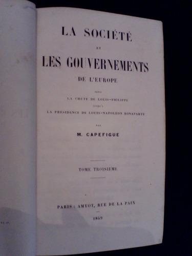 raro governos da europa 1849 m capefigue