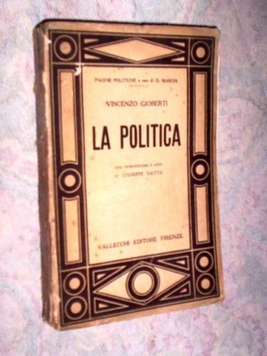 raro la política de vincenzo gioberti 1930