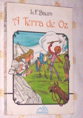raro livro a terra de oz l f baum de 1985