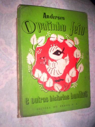 raro livro infantil o patinho feio e outras historias