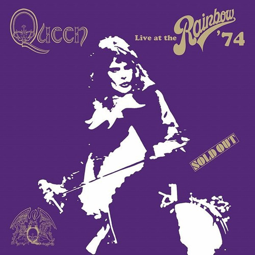 raro lp queen live at the rainbow 2 lps fora de catálogo