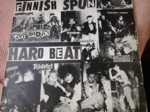 raro lp vinil  finnish spunk / disco beat  (1984 rock-o-rama