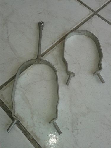 raro par ferraduras freio varão bicicletas antigas ano 50/60